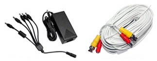 Power Supply Video Cables
